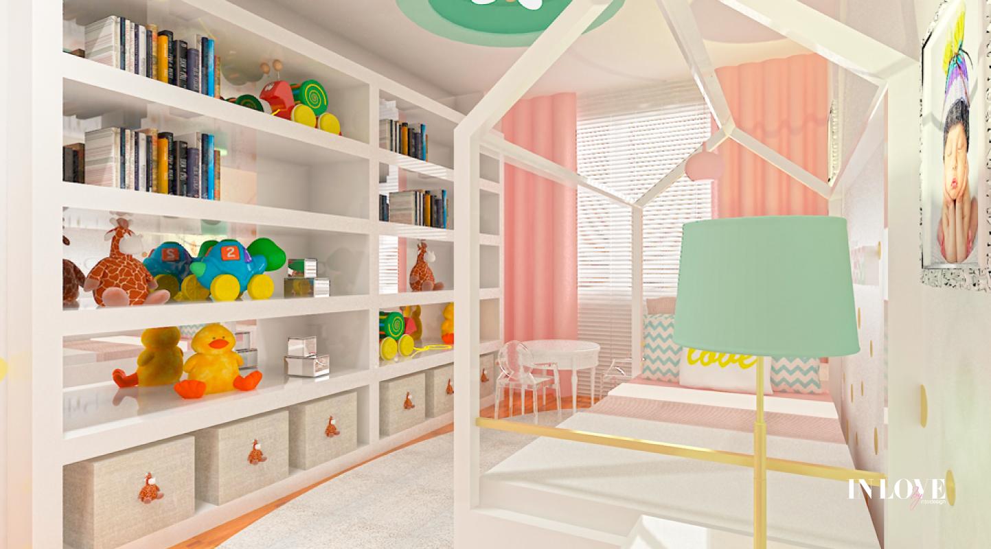 Help - O quarto de uma pequena princesa! A Princesa M1