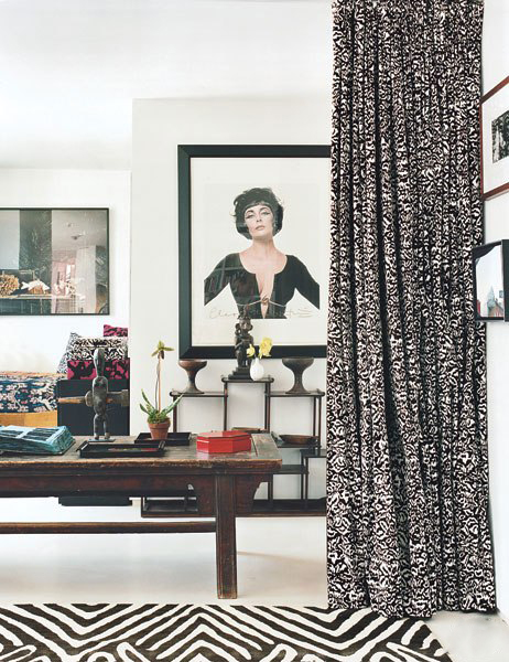 diane-von-furstenburg-new-york-apartment- interdesign