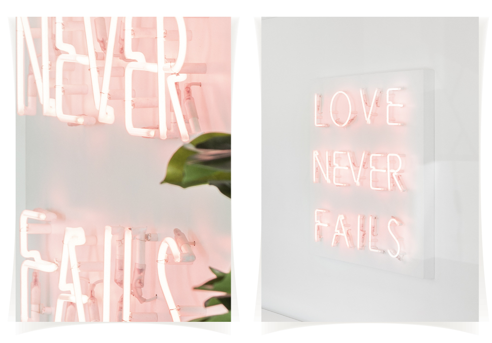 Neon sign! WHY NOT?? | In Love By Interdesign